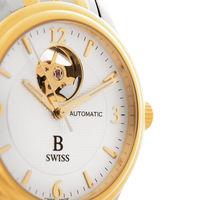 Швейцарские механические часы производства Carl F. Bucherer, позолоченный механизм и корпус, автозавод, гарантия.