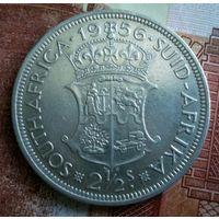 ЮАР. 2 1/2 шиллинга 1956 г.