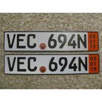 Автомобильный номер Германия VEC694N