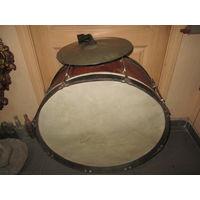 Барабан большой с тарелками