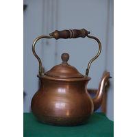 Чайник медный с лужением  1,5 л