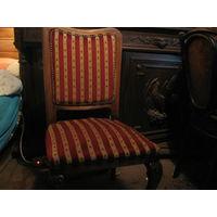 Кресло 19 век после реставрации