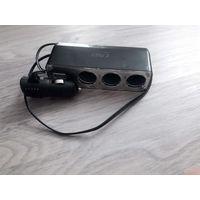 Разветвитель прикуривателя с USB разъемом