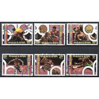 Марки Сенегал 1976.Спорт серия из 6 марок