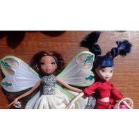 2 куклы Winx Club - Rainbow вместе
