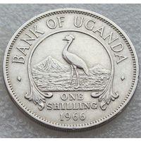 Уганда. 1 шиллинг 1966 год КМ#5