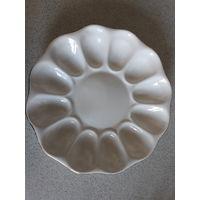 Тарелка Блюдо для яиц 22 см диаметр