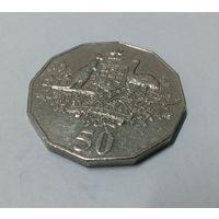Австралия 50 центов 2001, столетие федерации - Австралия