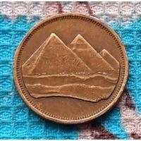 Египет 5 пиастр. Пирамиды. Инвестируй выгодно в монеты планеты!