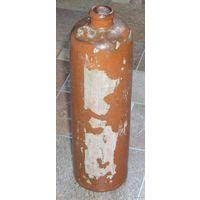 Немецкая керамическая бутыль на 1 литр