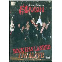 DVD-Video  Oliver/Dawson Saxon: Rock Has Landed - It's Alive