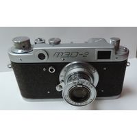 """Фотоаппарат """"ФЭД-2"""" Номер 176418. Исправный."""