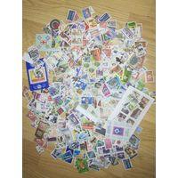 Большой лот гашеных марок разных стран ! с 1 руб!