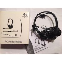 Наушники Logitech PC Headset 860 с микрофоном