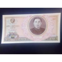 КНДР 100 вон 1978г.