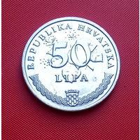 29-27 Хорватия, 50 лип 2010 г. Единственное предложение монеты данного года на АУ