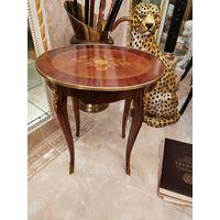Стол столик кофейный маркетри