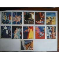 Наклейки Transformers Panini 1996