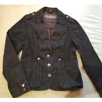 Джинсовый пиджак SUBLEVEL