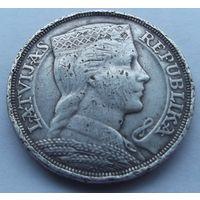 Латвия. 5 лат 1929. Серебро! Много лотов в продаже.
