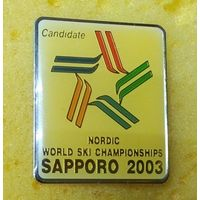 NORDIC  WORLD SKI CHAMPIONSHIPS   SAPPORO 2003