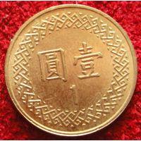 1 доллар 2012 Тайвань