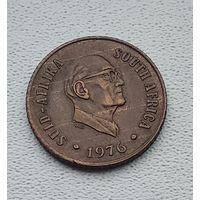 ЮАР 1 цент, 1976 Окончание президентства Якобуса Йоханнеса Фуше 3-14-9