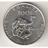 Джибути 100 франк 2013
