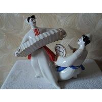 Статуэтка Гопак (Полонский завод художественной керамики),редкий раскрасс-лот 6