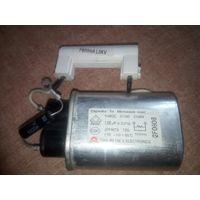 Конденсатор для СВЧ 1mFx2.1kV с вв диодом и предохранителем