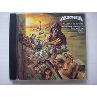 "HELLOWEEN ""Walls Of Jericho + Judas "" CD  1985/1993 первый пресс U.S. Futurist 9086-11041-2"