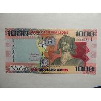 Сьерра-Леоне 1000 леоне 2013г UNC