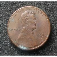 США, 1 цент 1994 D