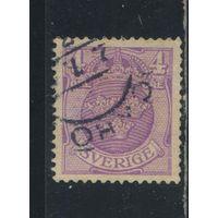 Швеция 1910 Герб Стандарт #59