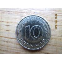 10 pfennig 1993 G