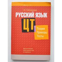 Русский язык: ЦТ Теория Примеры Тесты