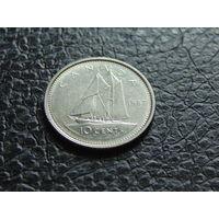 Канада 1987 г. 10 центов  Елизавета II.