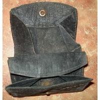 Старинный кожаный кошелек