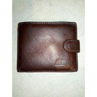 Кошелёк портмоне натуральная кожа коричневый