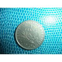 1 франк 1969 Франция
