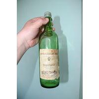 """Ретро СССР! Бутылка из-под азербайджанского вина """"Портвейн белый"""" 1980-1987 год с родной этикеткой и частью пробки"""