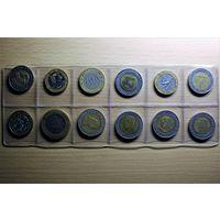 Биметаллические монеты разных стран, продажа или обмен на другие биметаллические монеты, предлагайте варианты