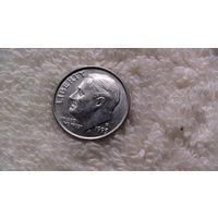 США 10 центов 1993г P. распродажа