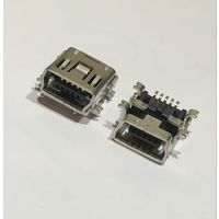 USB B mini; SMT; PIN:5; горизонтальный Гнездо / Разъём / Разъем usb USB/M-1J