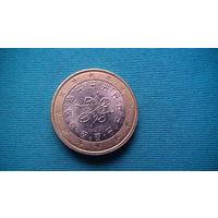 Португалия 1 евро 2016г.   распродажа