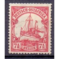 Германия Восточная Африка 7 1/2 гел Wz 1 1906-1920 гг