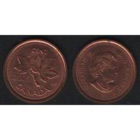 Канада _km490 1 цент 2005 год km490 не магнит (h01)