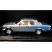 Продам MERCEDES-BENZ 280CE Coupe C123 (1980), blue metallic производитель Norev