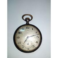 Карманные военные часы ETERNA 1918 год (Швейцария) на ходу с 1 рубля без МПЦ