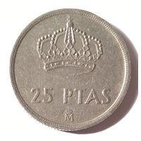 Испания, 25 песет 1983 г.